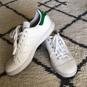 Adidas Stan Smith Sneakers - White/Green